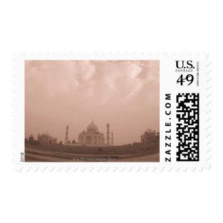 'Mausoleum at the riverside, Taj Mahal, Agra, 2 Postage