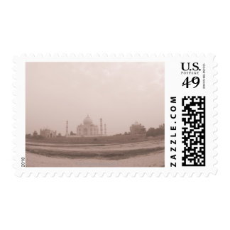 'Mausoleum at the riverside, Taj Mahal, Agra, Postage