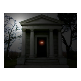 Mausoleum Eyes Poster