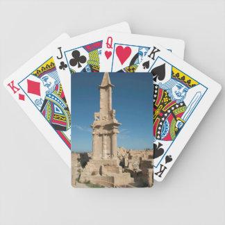 Mausoleum Of Bes, Sabratha, Az Zawiyah District Bicycle Playing Cards