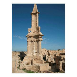 Mausoleum Of Bes, Sabratha, Az Zawiyah District Postcard