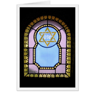 Mausoleum Window Greeting Card