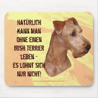 "Mauspad ""Terrier Irlandesa "" Mouse Pad"