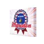 Mauston, WI Gallery Wrapped Canvas