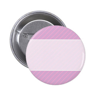 Mauve and Pink Diagonal Striped Pattern. 2 Inch Round Button