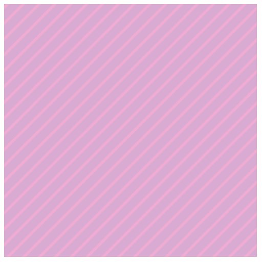 Mauve and Pink Diagonal Striped Pattern. Photo Sculpture Magnet