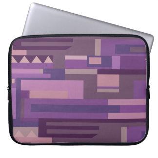 Mauve and purple hue laptop case laptop sleeves