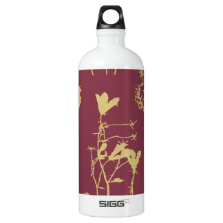 Mauve and Wild Flowers SIGG Traveler 1.0L Water Bottle