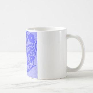 mauve ballerina mug