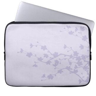 Mauve Blossoms Computer Sleeve