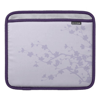 Mauve Blossoms Sleeve For iPads