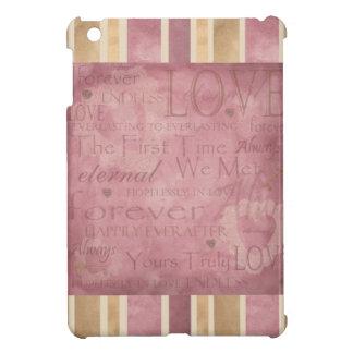 Mauve Endless Eternal Love - iPad Mini Covers