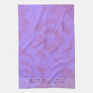 Mauve Fantasy Hand Towels