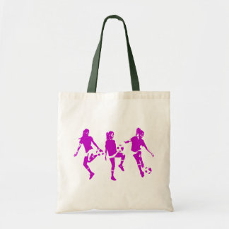 Mauve Female Soccer Skills Bag