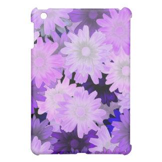 Mauve floral iPad mini cover