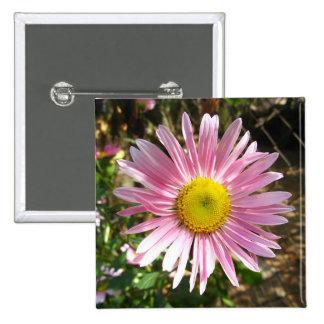 Mauve flower pins