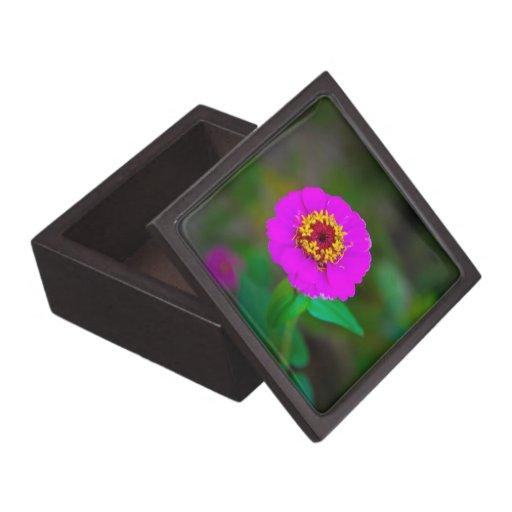 Mauve flower premium jewelry boxes
