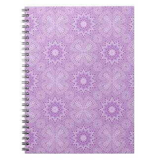 Mauve Flowers Notebook
