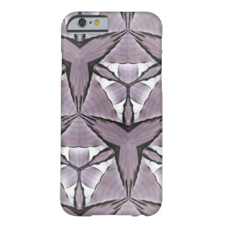 Mauve Hosta Print Barely There iPhone 6 Case
