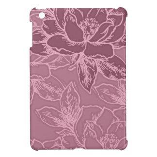 Mauve Lotus Pattern Ipad Mini Case