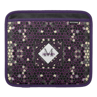 Mauve Mosaic Passion Sleeve For iPads