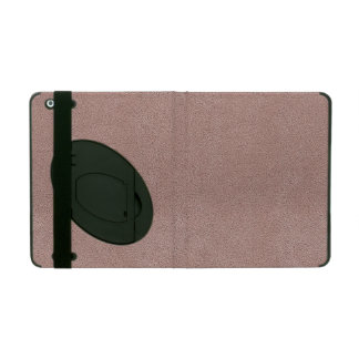 Mauve Pink Ultrasuede Look iPad Cases