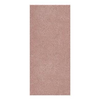 Mauve Pink Ultrasuede Look Customized Rack Card