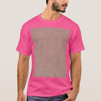 Mauve Pink Ultrasuede Look T-Shirt