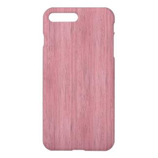 Mauve Purple Bamboo Wood Grain Look iPhone 7 Plus Case
