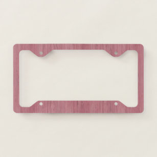 Bamboo Wood License Plate Frames Amp Covers Zazzle
