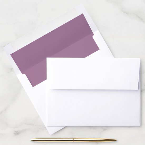 Mauve Purple | Envelope Liner