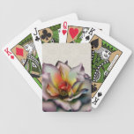 Mauve Rose Playing Cards