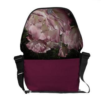 Mauve Roses Courier Bag