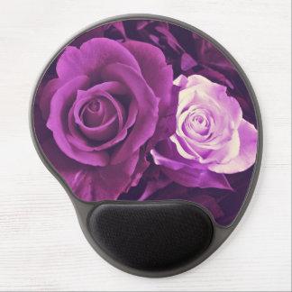 Mauve Roses in Bloom Gel Mousepad
