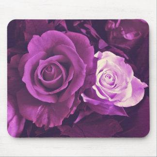 Mauve Roses in Bloom Mousepad
