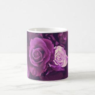 Mauve Roses in Bloom Mug