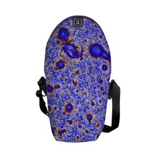 Mauve & Sienna Swirling Vortex Small Messenger Bag