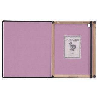 Mauve Solid Color Cases For iPad