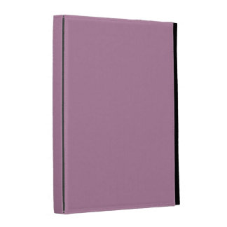 Mauve Solid Color iPad Cases