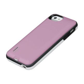 Mauve Solid Color iPhone SE/5/5s Battery Case