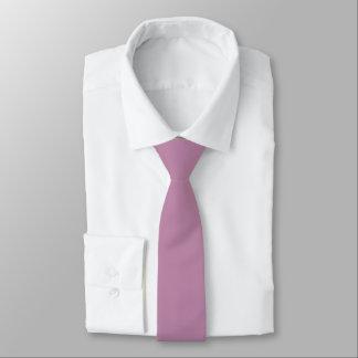 Mauve Solid Color Tie