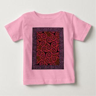 Mauve Spirals x3 Baby T-Shirt