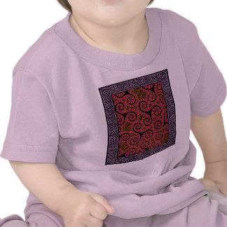 Mauve Spirals x3 Tshirts