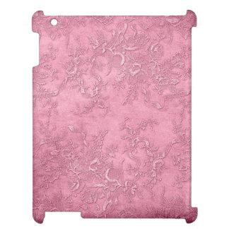 Mauve Texture Vines Floral Pink Vintage Victorian iPad Cover