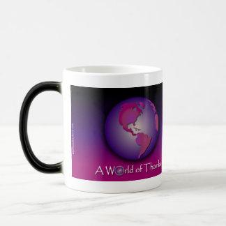 Mauve World of Thanks Mug