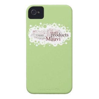 Mauvi Type Case-Mate iPhone 4 Case