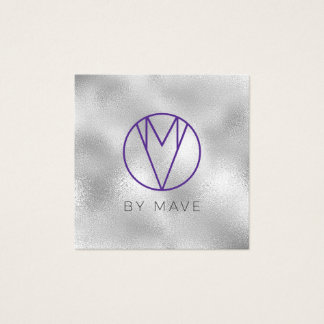 Mave Gray Ombre Business Card 1g
