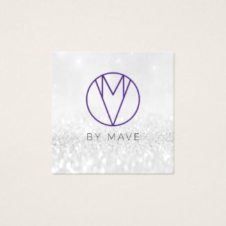 Mave Gray Ombre Business Card 1k
