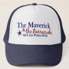 Maverick and Barracuda (McCain Palin 2008) Trucker Hat