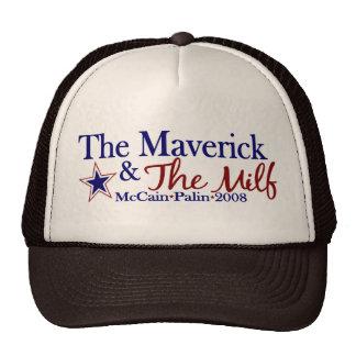 Maverick and Milf (McCain Palin 2008) Trucker Hat